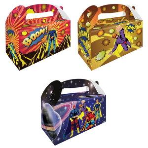 Partybox Superhelden 8 stuks