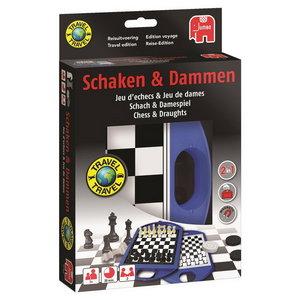 Schaken en dammen compact edition