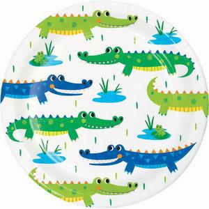 Gebaksbordjes Krokodillen Party 8 stuks