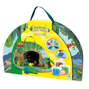 Jurassic dino wereld speelkoffer