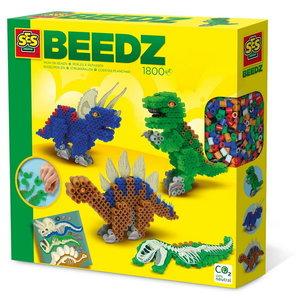 Strijkkralen Dino's 3D