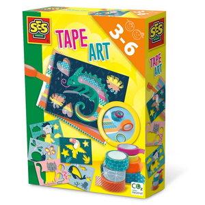 Tape Art dieren