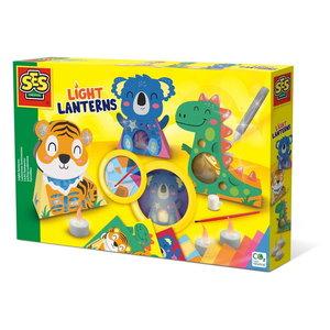 Licht Lantaarns dieren 3 stuks