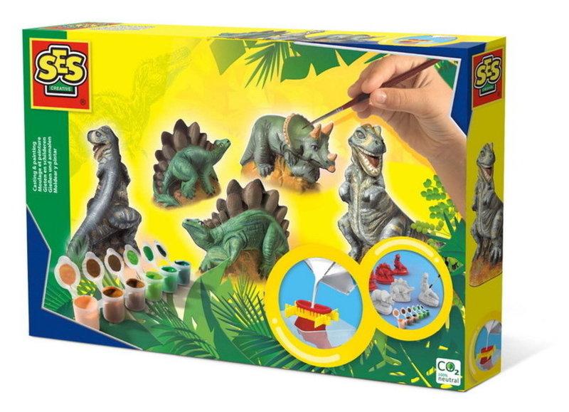 Dinosaurus speelgoed en knutselspullen