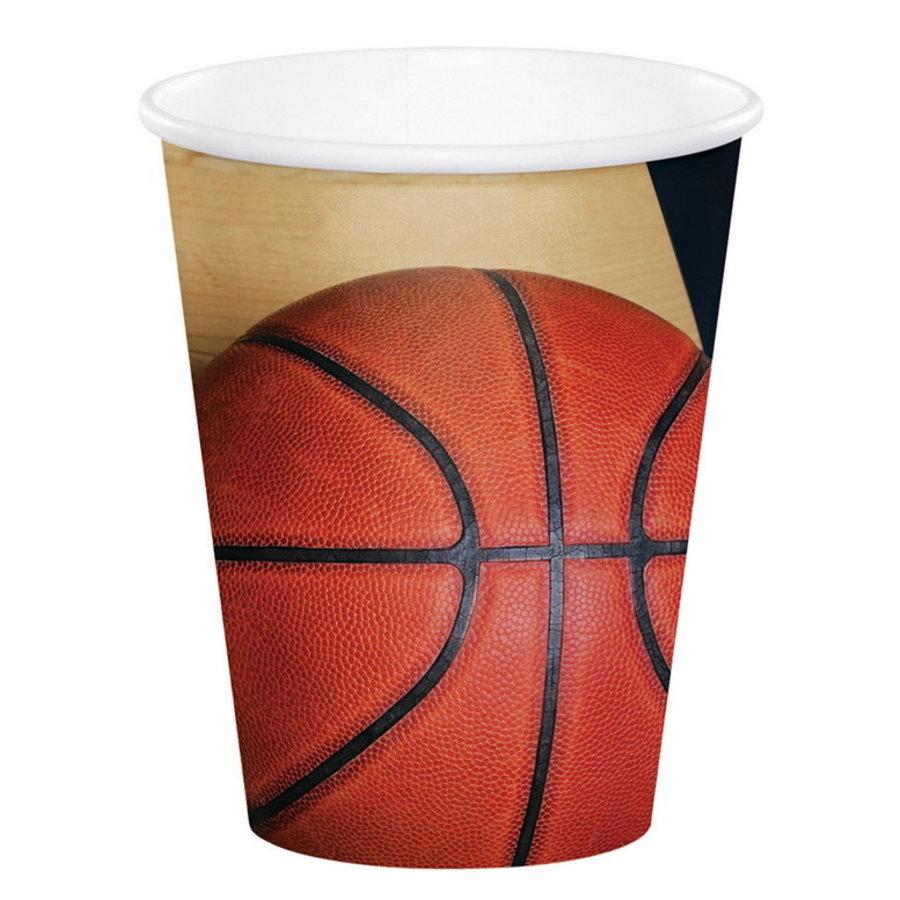 Bekertjes Basketbal 8 stuks