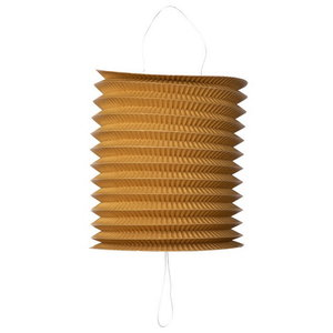 Trek lampion goud metallic 20 cm