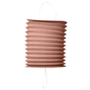 Trek lampion rosé goud metallic 20cm