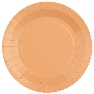 Bordjes pastel perzik 10 stuks