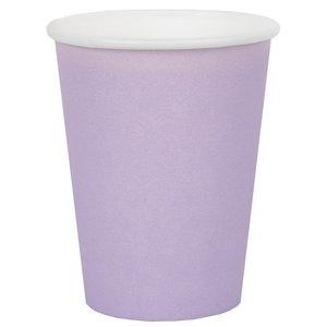 Bekertjes pastel lila 10 stuks