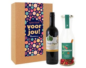 Cadeaupakket Rode Gluhwein + Rode Wijn