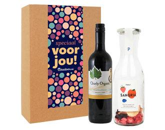 Cadeaupakket Sangria Rood + Rode Wijn