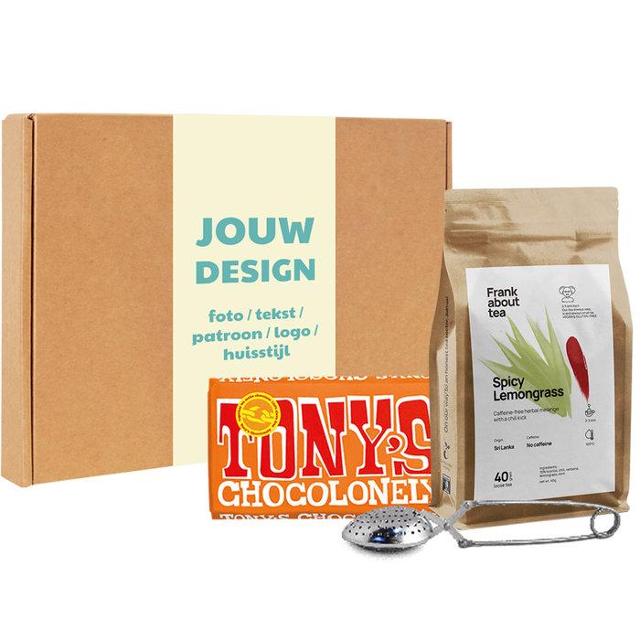 Frank About Tea Brievenbusbox Spicy Lemongrass Melk Karamel/Zeezout