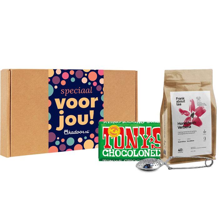 Frank About Tea Brievenbusbox Honeybush Melk Hazelnoot