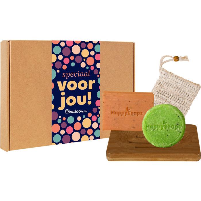 Happy Soaps Giftbox Hair & Body Tea-riffic