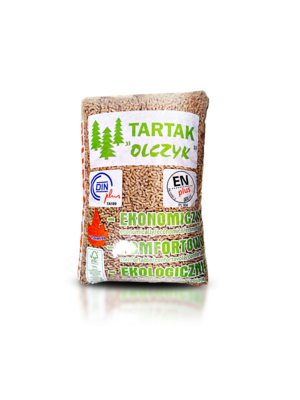 BeterWarm Tartak Pellet EN+ A1 15 kg.