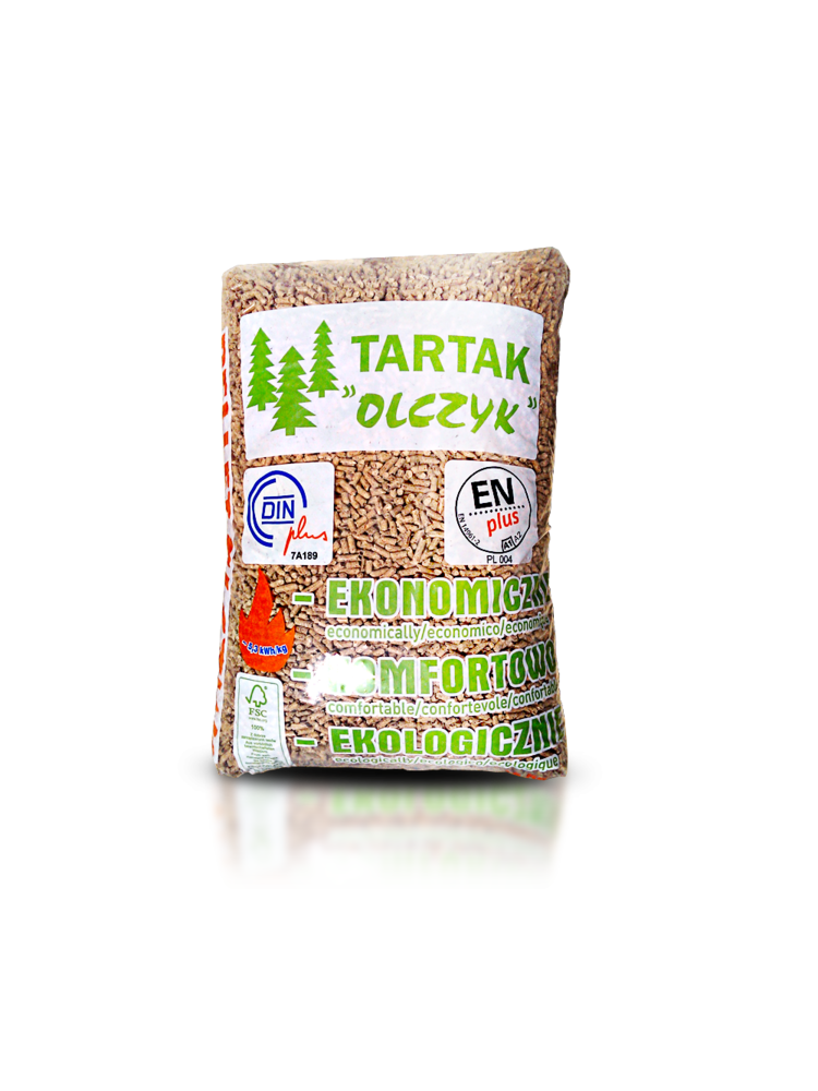 BeterWarm Tartak 100% naaldhout Pellet EN+ A1 per zak 15 kg.