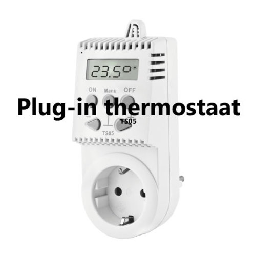 Plug-in thermostaat TS05