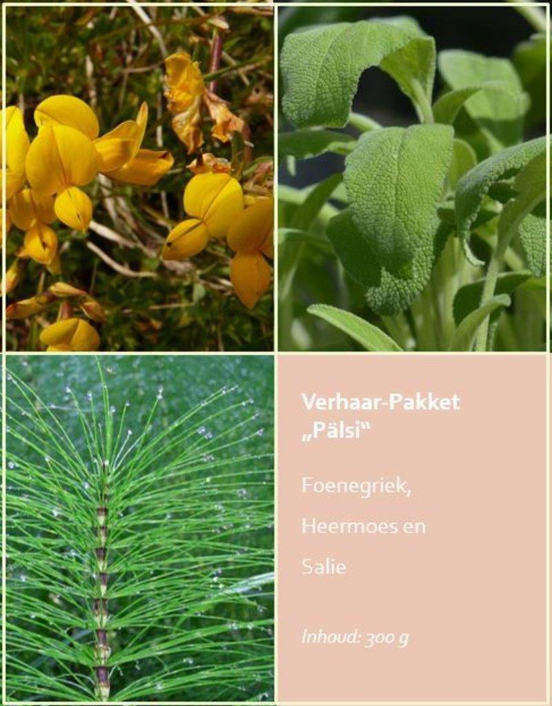 """Verhaar-Pakket """"Pälsi"""" 300 g (Pepermuntblad, Guldenroede, Paardenbloemwortel)"""