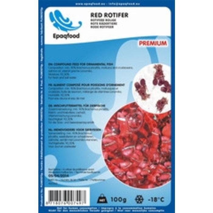 larves de moustiques rouges