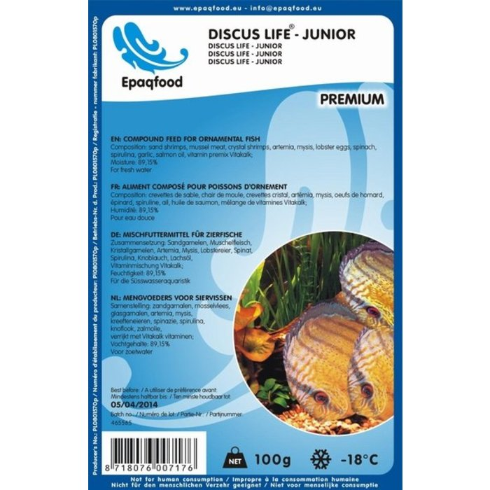 Discus Life - Junior