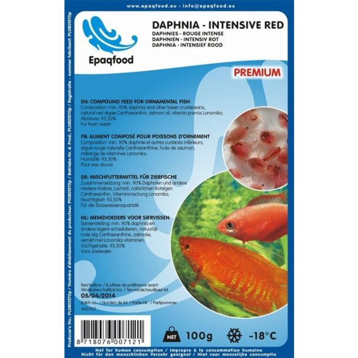 Daphnia - Rouge intense