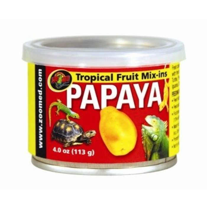 "Zm Tropical Fruit ""Mix-Ins"" Papaya (113 gr)"