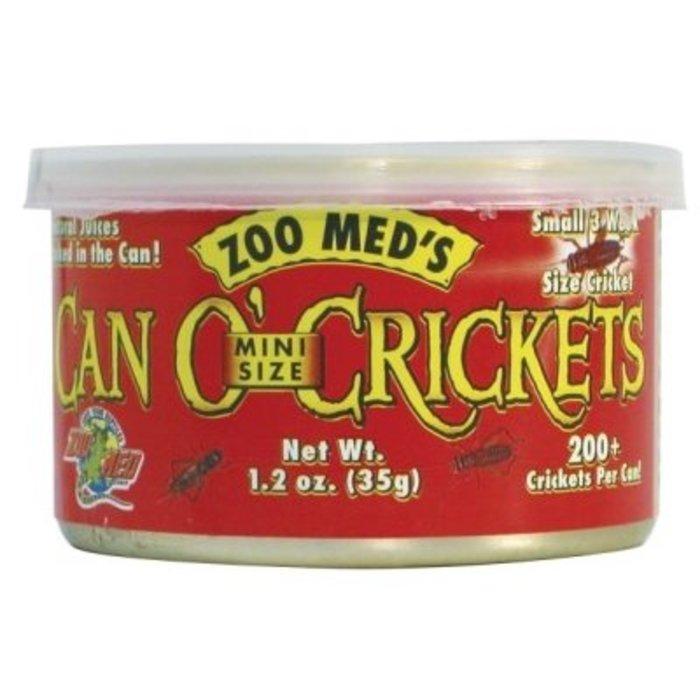 Zm Can O' Crickets Mini Size (35 gr/ 200 St.)