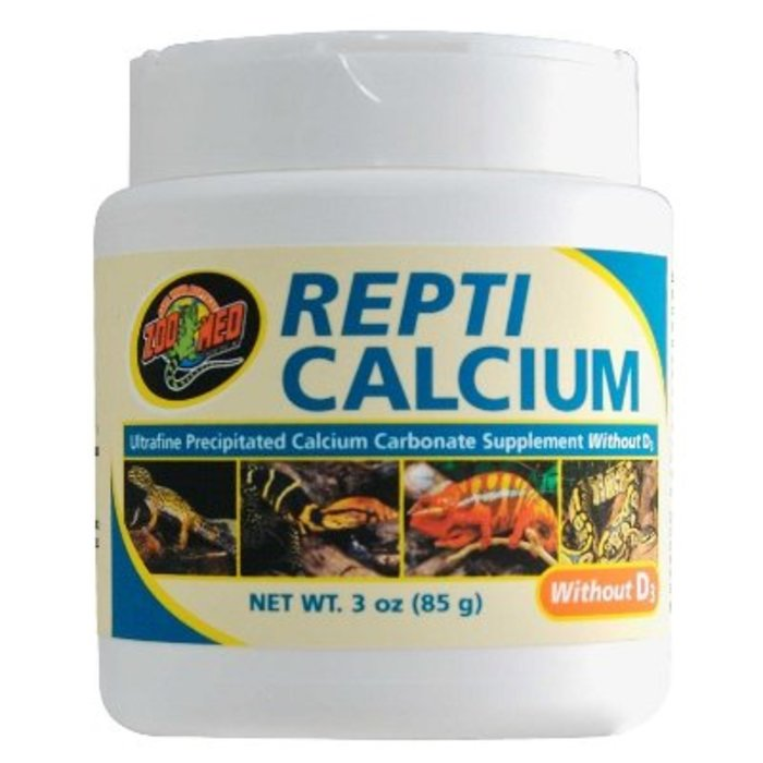 Zm Repti Calcium Without D3; 85 gr