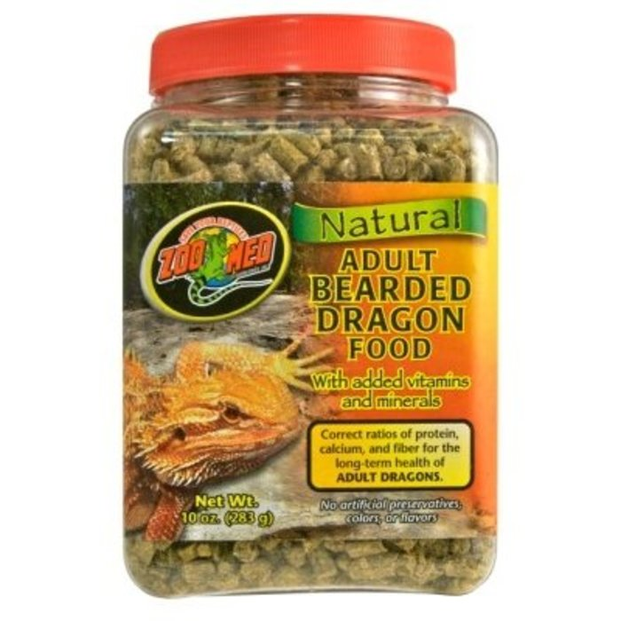 Zm Bearded Dragon Food Adult 283 gr