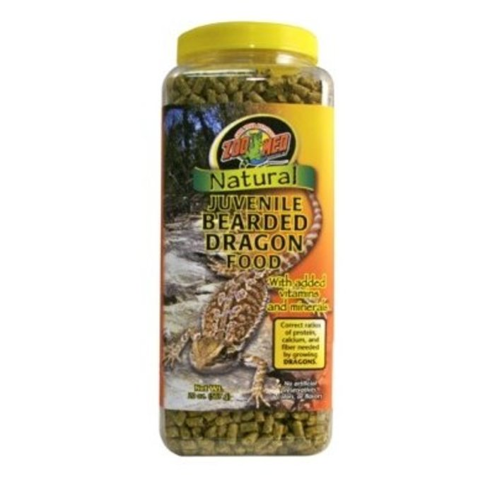 Zm Bearded Dragon Food Juvenile 567 gr