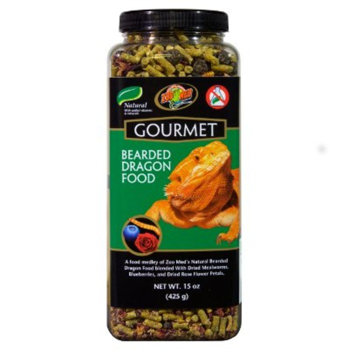 Zm Gourmet Bearded Dragon Food 383 gr