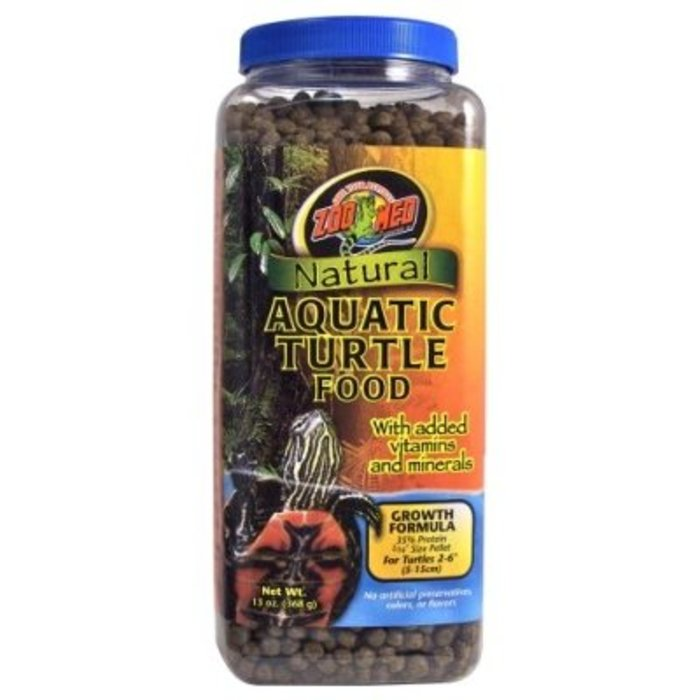 Zm Natural Aquatic Turtle Food Growth 368 gr