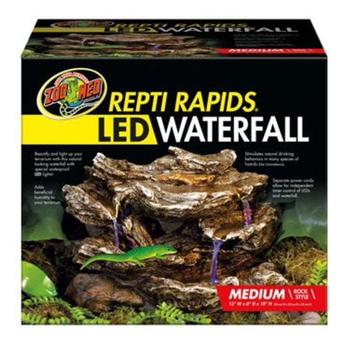 Reptirapids LED Waterfall (Medium Rock)