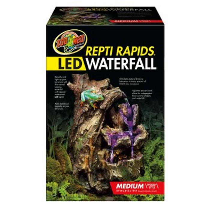 Reptirapids LED Waterfall (Medium Wood)