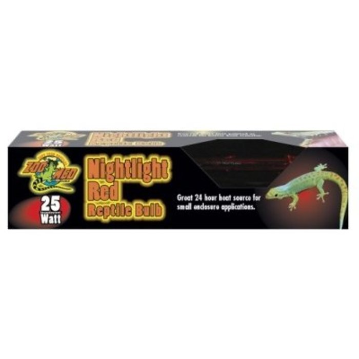 Nightlight Red Reptile Bulb - 25 watt
