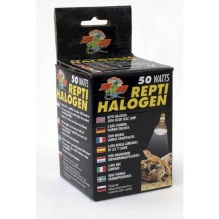 Repti Halogen Heat Lamp - 50 watt