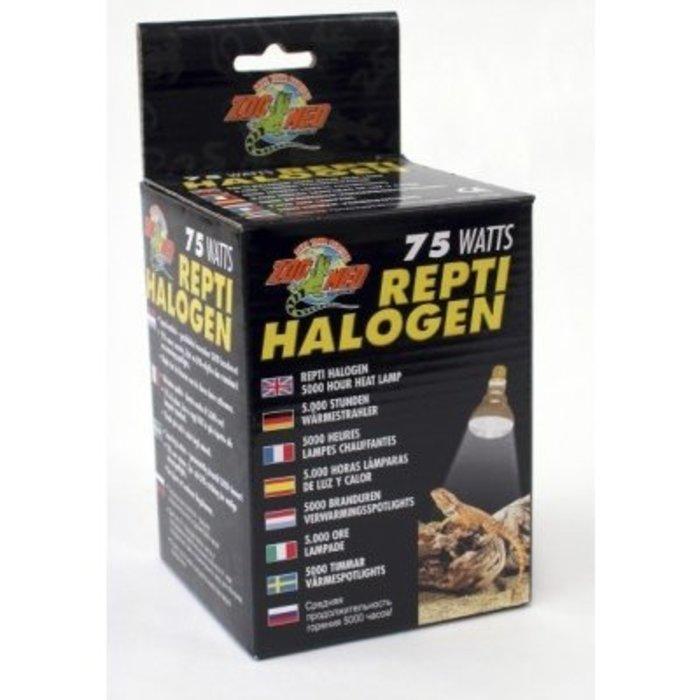 Repti Halogen Heat Lamp - 75 watt