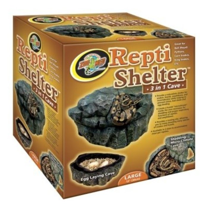 Repti Shelter Large 3 In 1 Cave Large (30 cm)