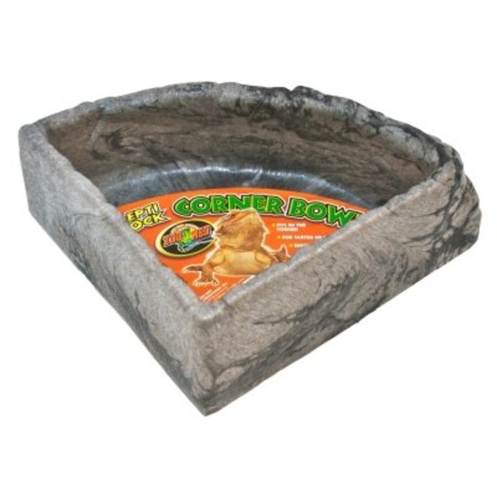 Repti Rock Corner Water Dish Large