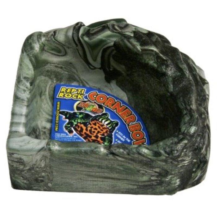 Repti Rock Corner Water Dish Small