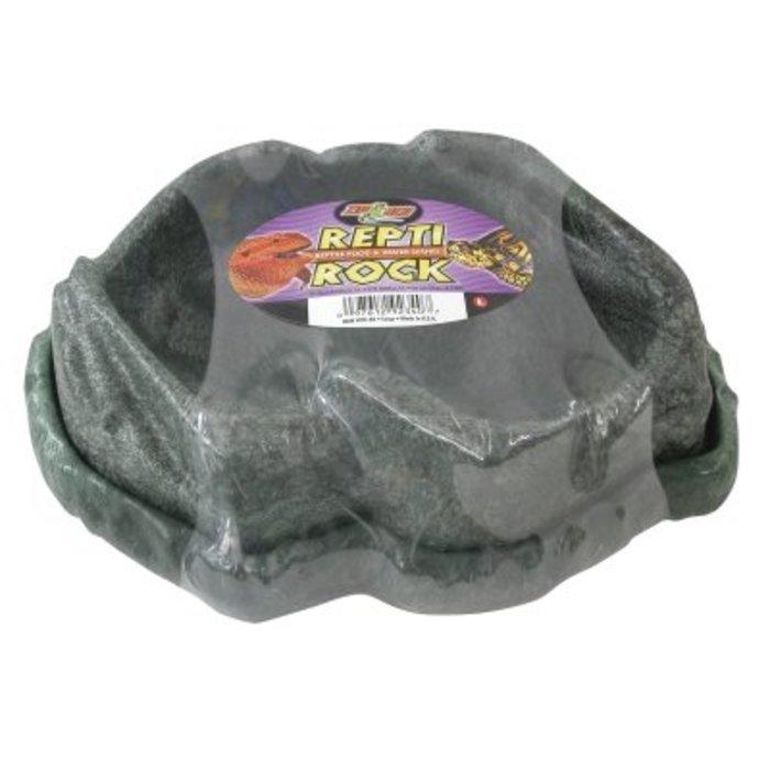 Combo Repti Rock Food/ Water Dish Large