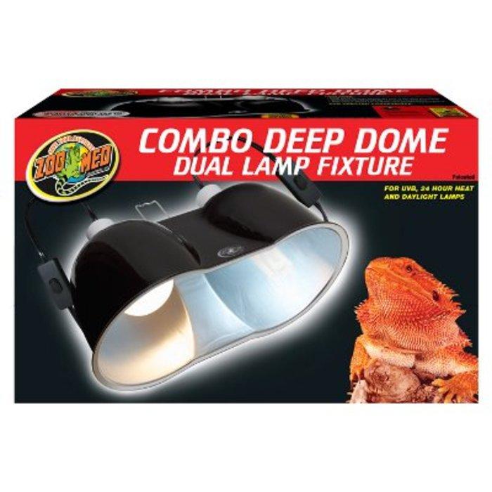 Large Combo Deep Dome Fixture