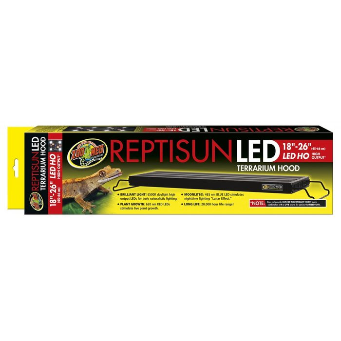 ReptiSun LED Fixture - (45 - 66 cm)