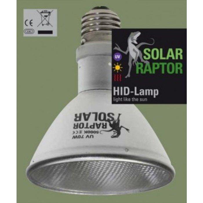 Solar Raptor HID UV Lamp 70W (Exclusief Ballast)