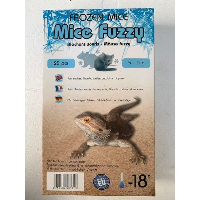 Congele souris fuzzy 5-6gr 25pc