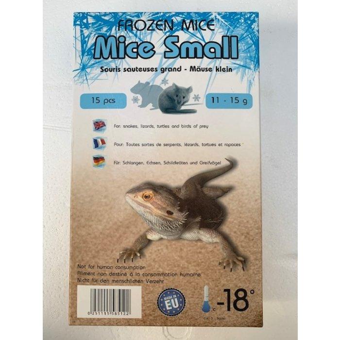 Diepvries muis klein 11-15gr 15stuks