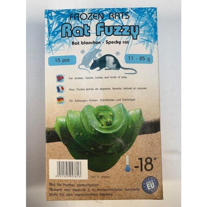 DIepvries rat fuzzy 11-25gr 15st