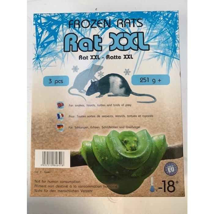 Diepvries rat groot+ 250gr+ 3 st