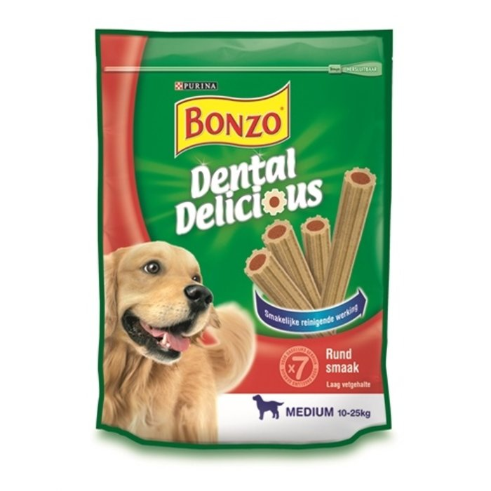 6x bonzo dental delicious rund smaak