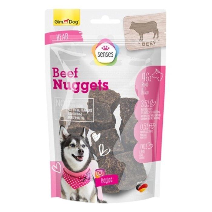 Gimdog senses pure beef nuggets